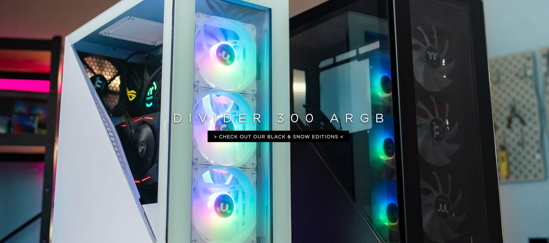 Divider 300 ARGB Mid Tower Case