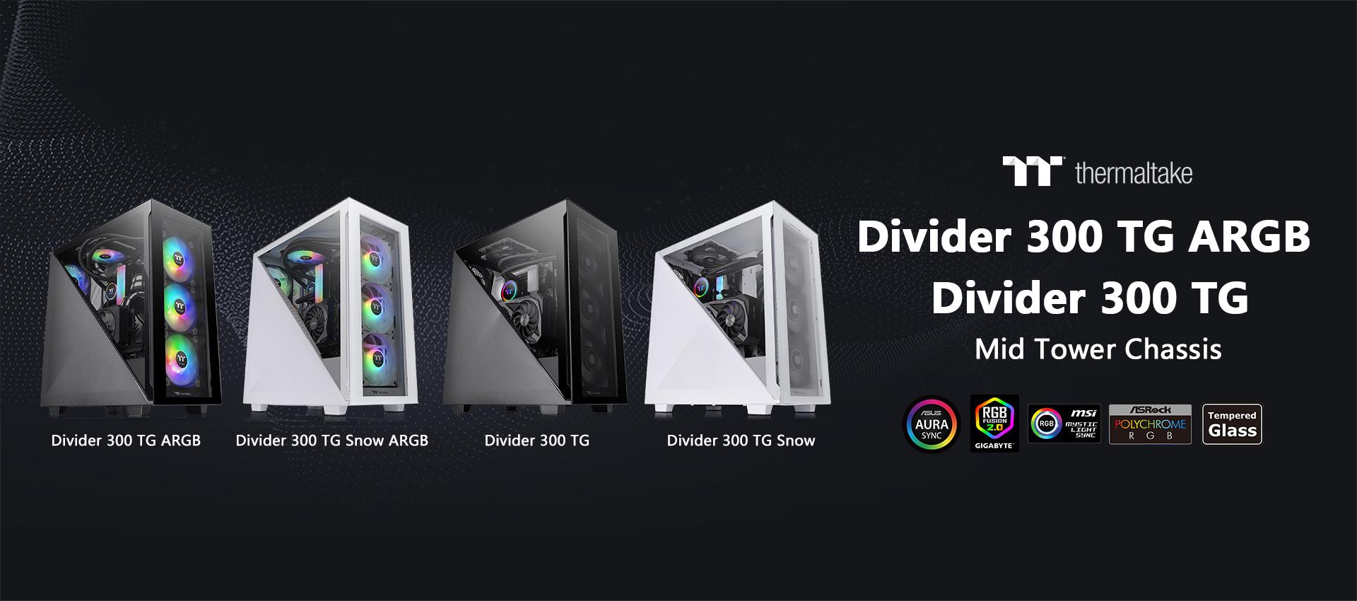 Divider 300 TG.Divider 300 TG ARGB
