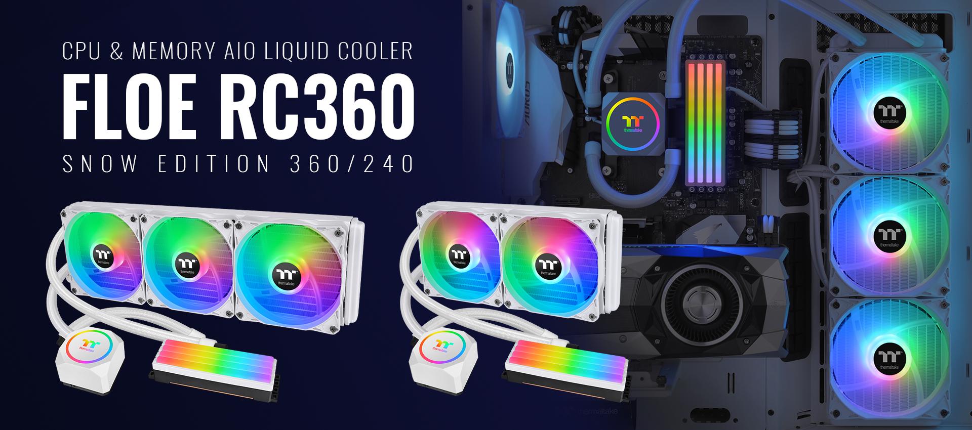 CPU & Memory AIO Liquid Cooler