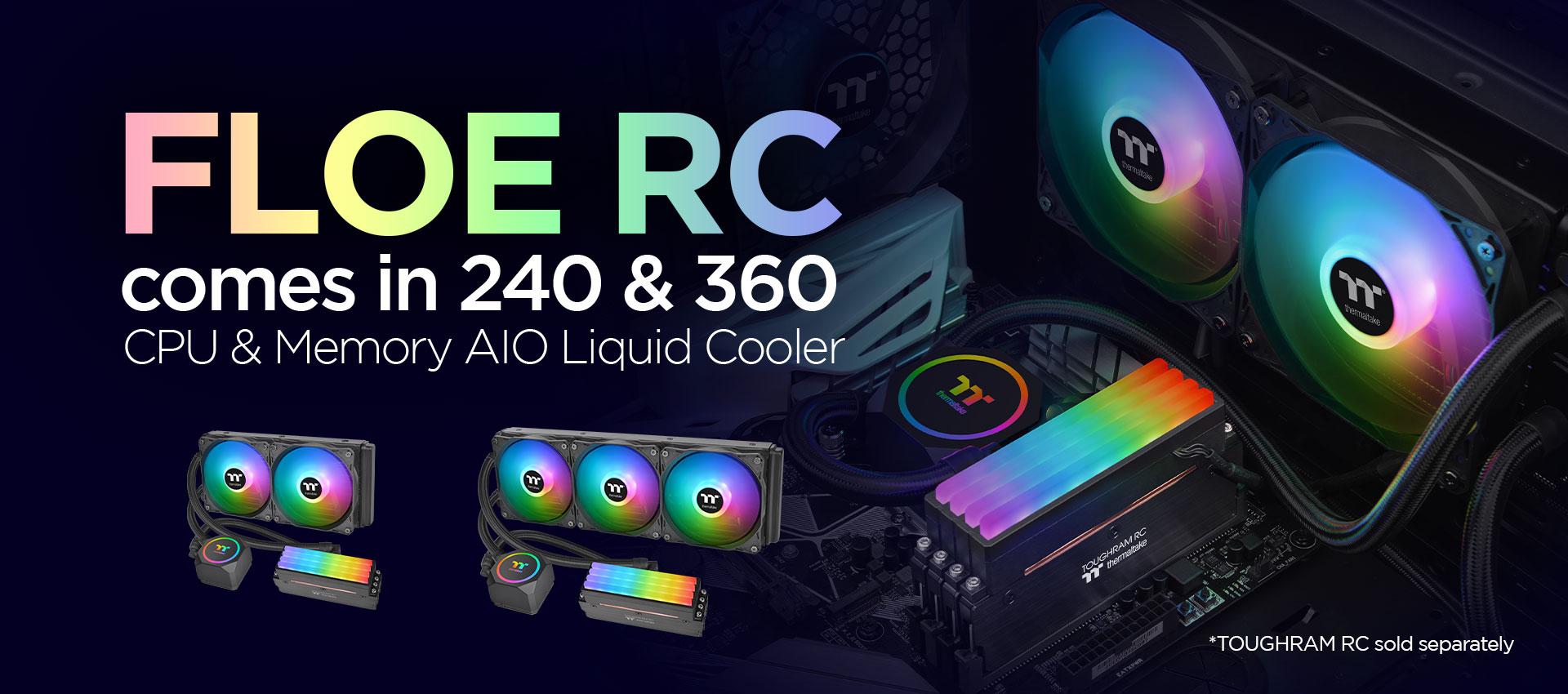floe rc240 cpu memory