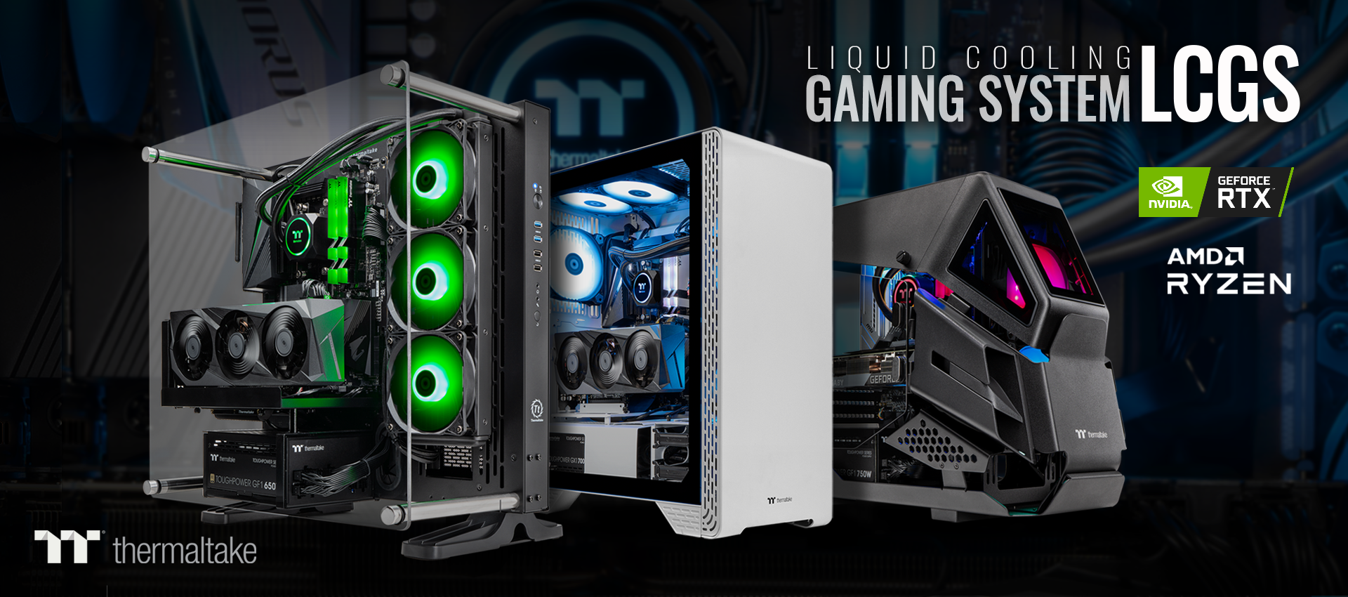 Liquid Cooling Gaming System LCGS
