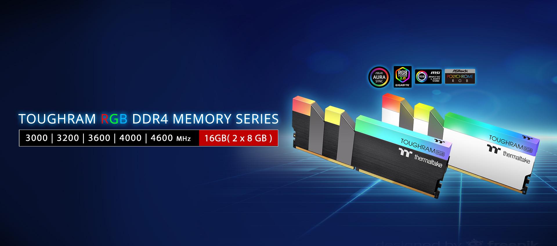 TOUGHRAM RGB Memory DDR4 4400MHz 16GB