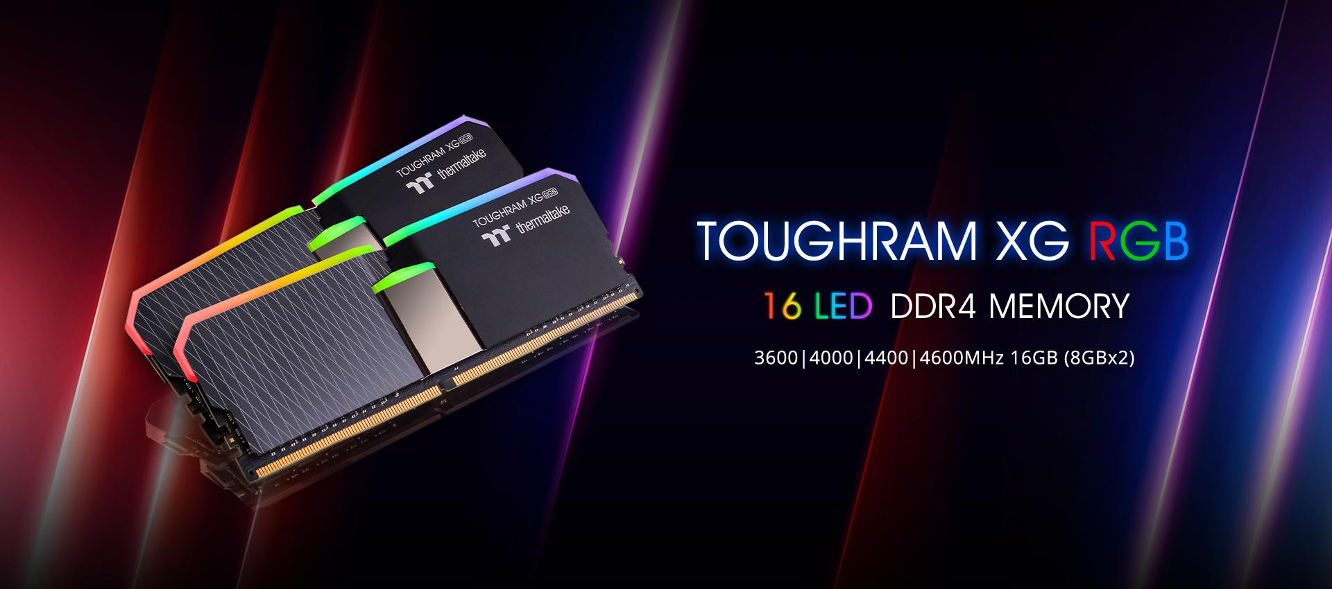 TOUGHRAM XG RGB Memory DDR4