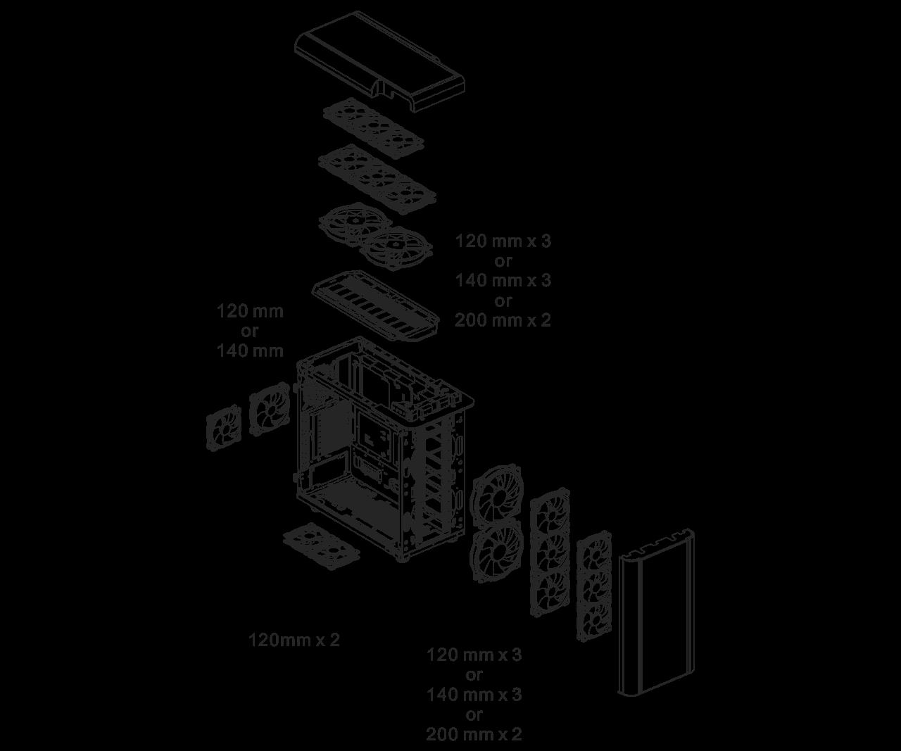 Case Thermaltake Level 20 GT ARGB Black Edition